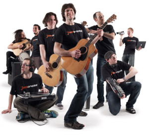 The Jamorama team circa 2009